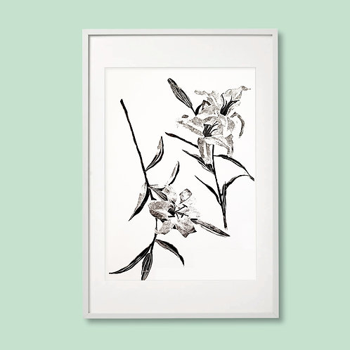No Watering Required: Lilies