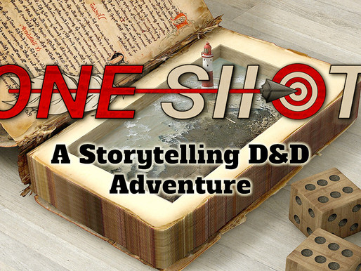 OneShot: A Solo Dungeons & Dragons Storytelling Adventure.