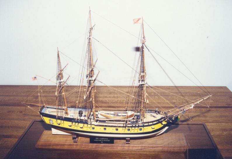 Rattlesnake Massachusetts privateer 1781 1:64