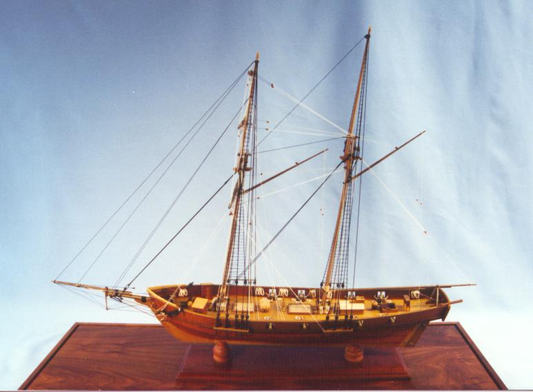 Baltimore Clipper privateer 1:48