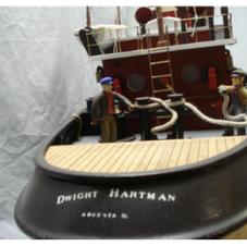 Dwight Hartman harbor tug stern detail.P