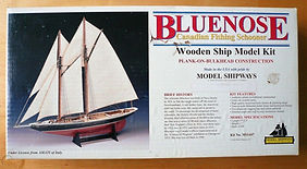 Model Shipways Bluenose plank on bulkhea