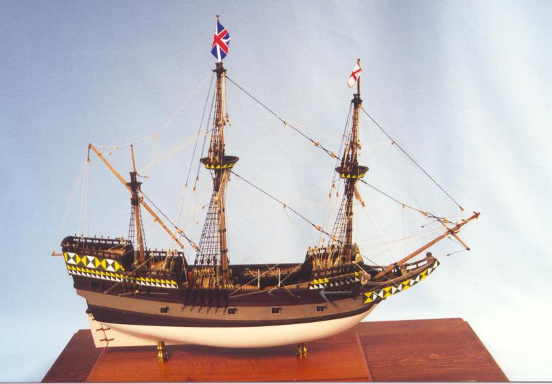 Mayflower 1620 1:64