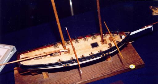 Virginia privateer WIP 1:64
