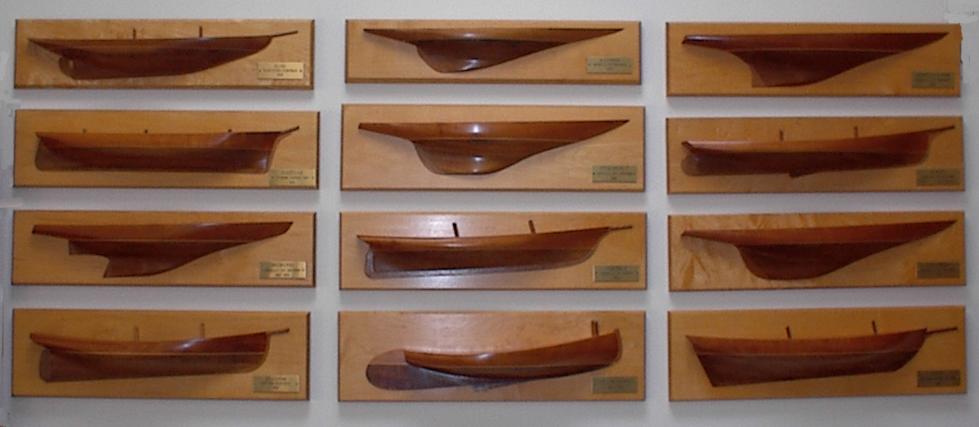 Half hull models