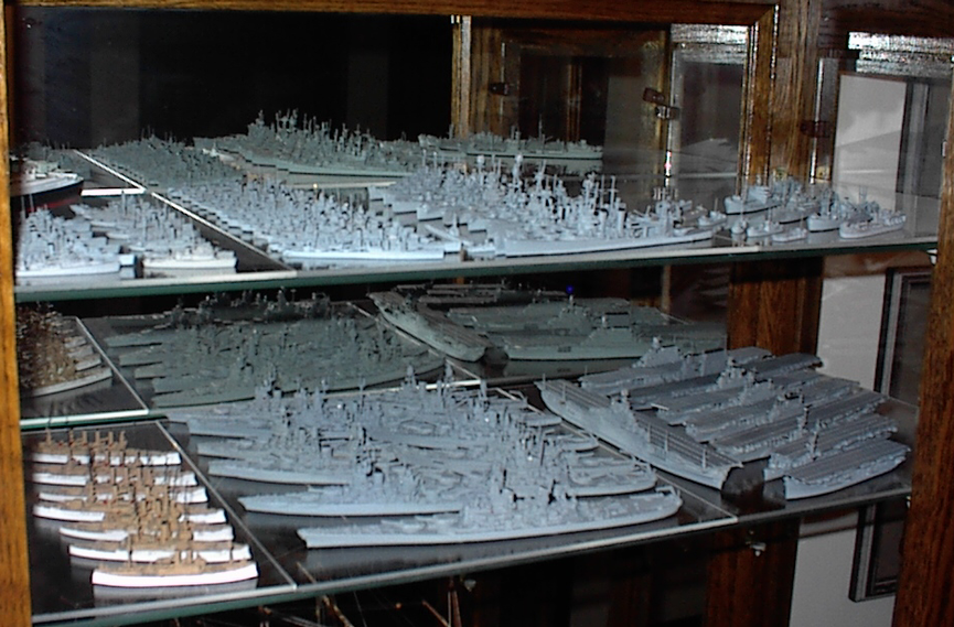 US Navy recognition models WW2 1:1250