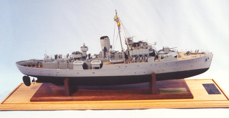 USS Saucy PG-65 1:72