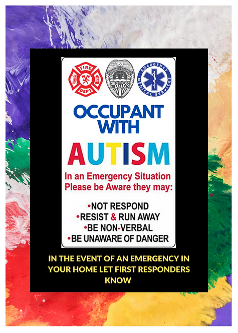 Occupant with Autism