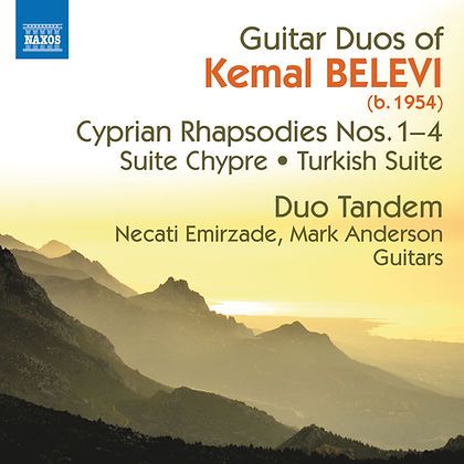 "Duo Tandem ""Guitar Duos of Kemal Belevi"" Album Cover"