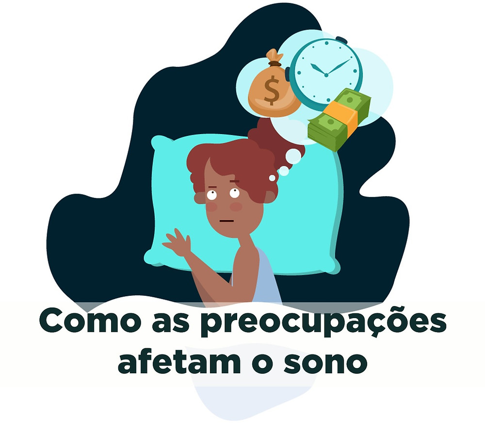 Blog da SleepUp: Como evitar que pensamentos e preocupações afetem o seu sono.