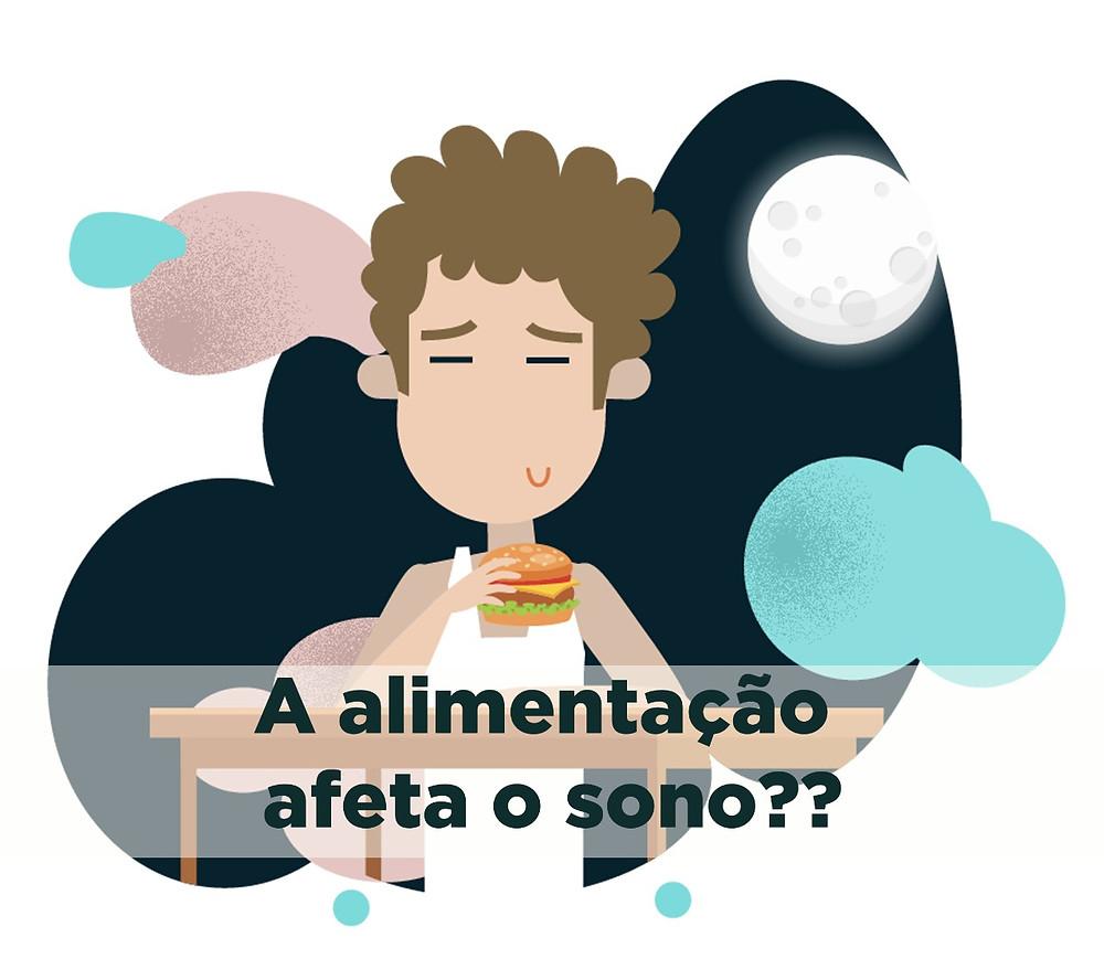 Blog da SleepUp: Alimentação afeta o sono?