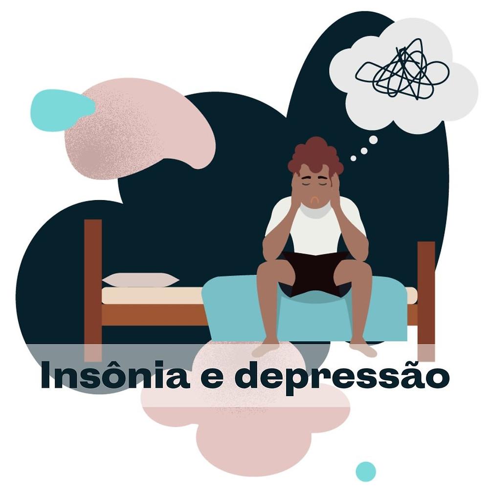 Blog da SleepUp: Qual a relação entre Insônia e depressão?
