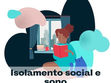 Isolamento social e sono em tempos de pandemia