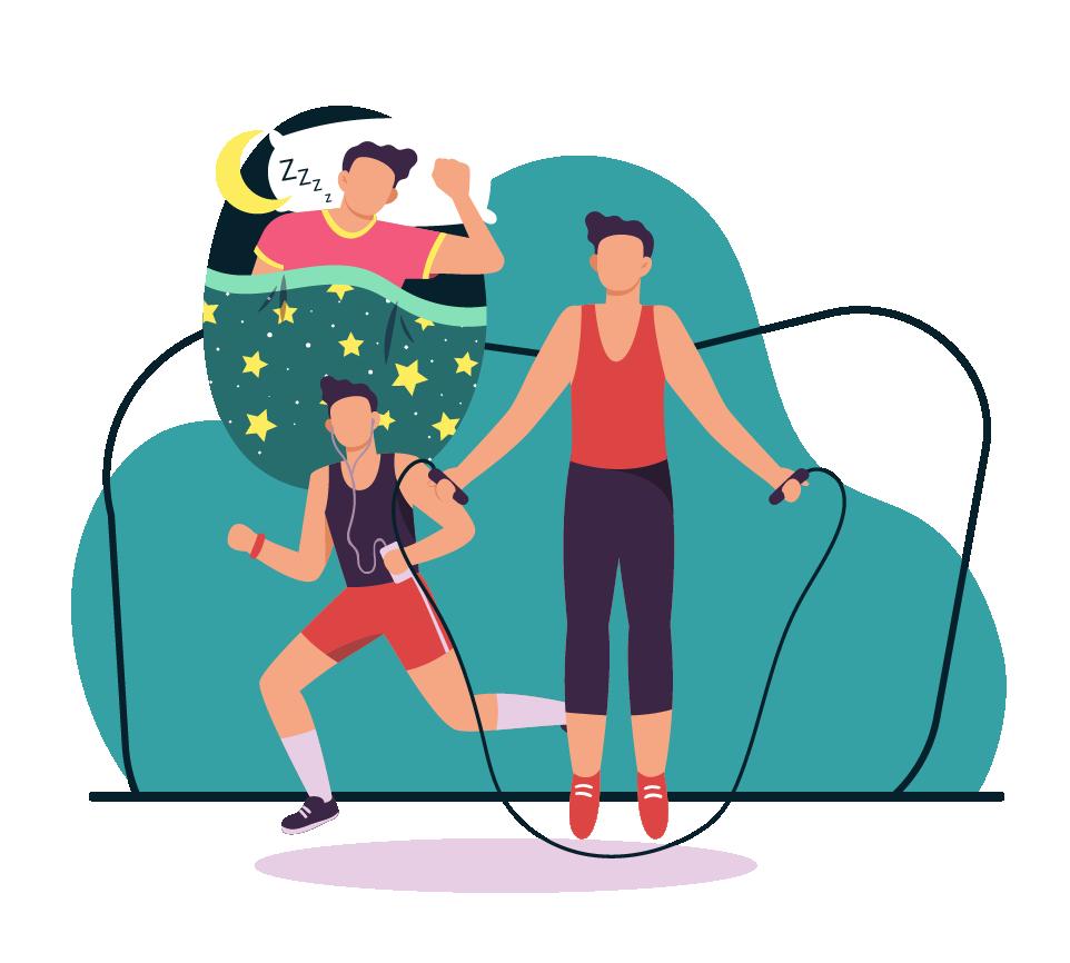 Blog SleepUp - Exercício físico: Como ele pode melhorar o sono?