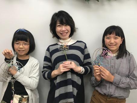 ワイヤークラフト講座のご案内(12月19日(水))