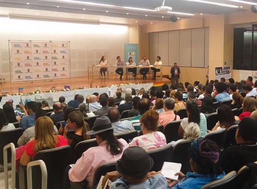 CTU - USCTRAB, presente en la instalación del Consejo Territorial de Paz en Medellín.