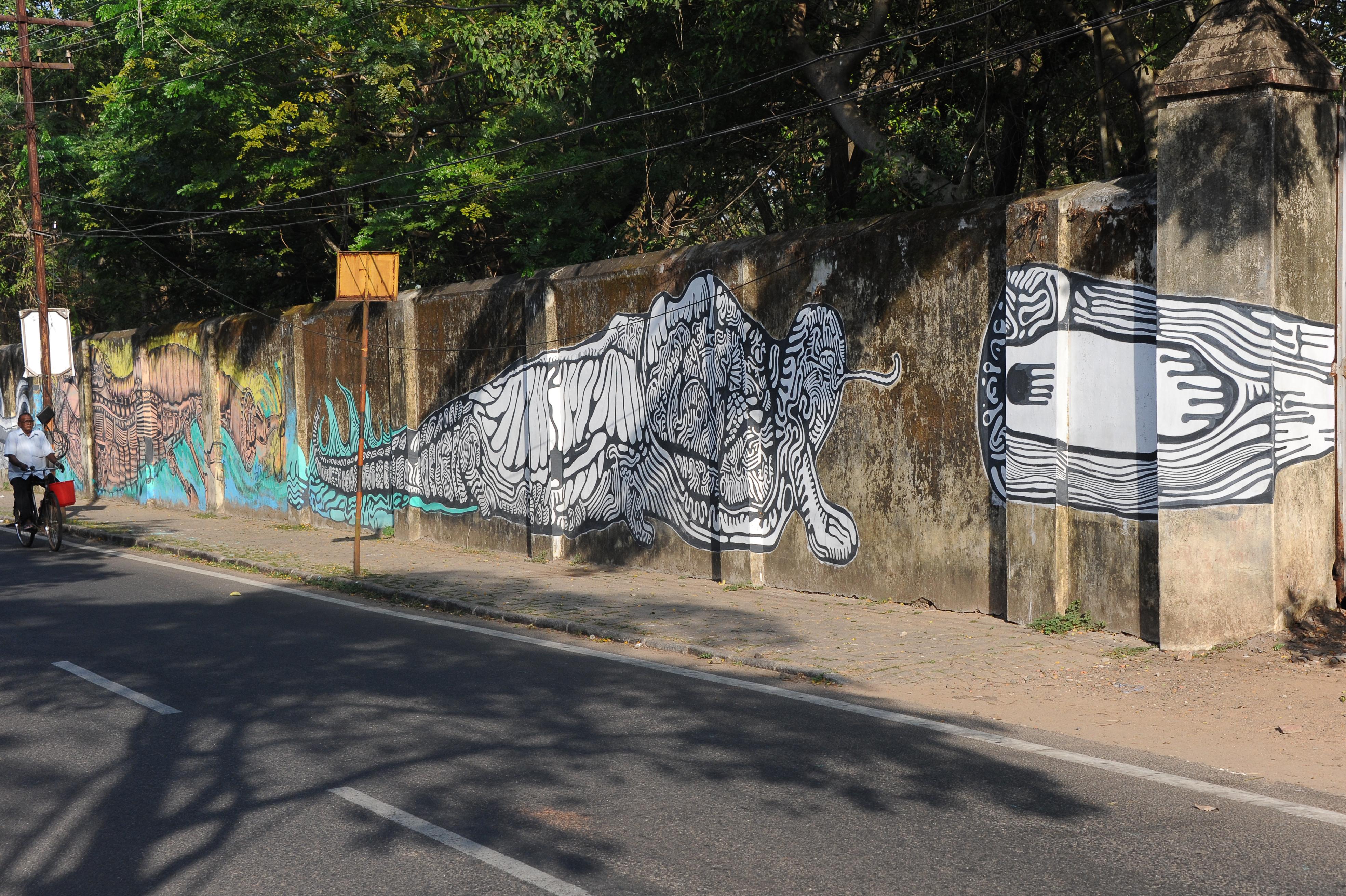 fresque de rue 1 Cochin