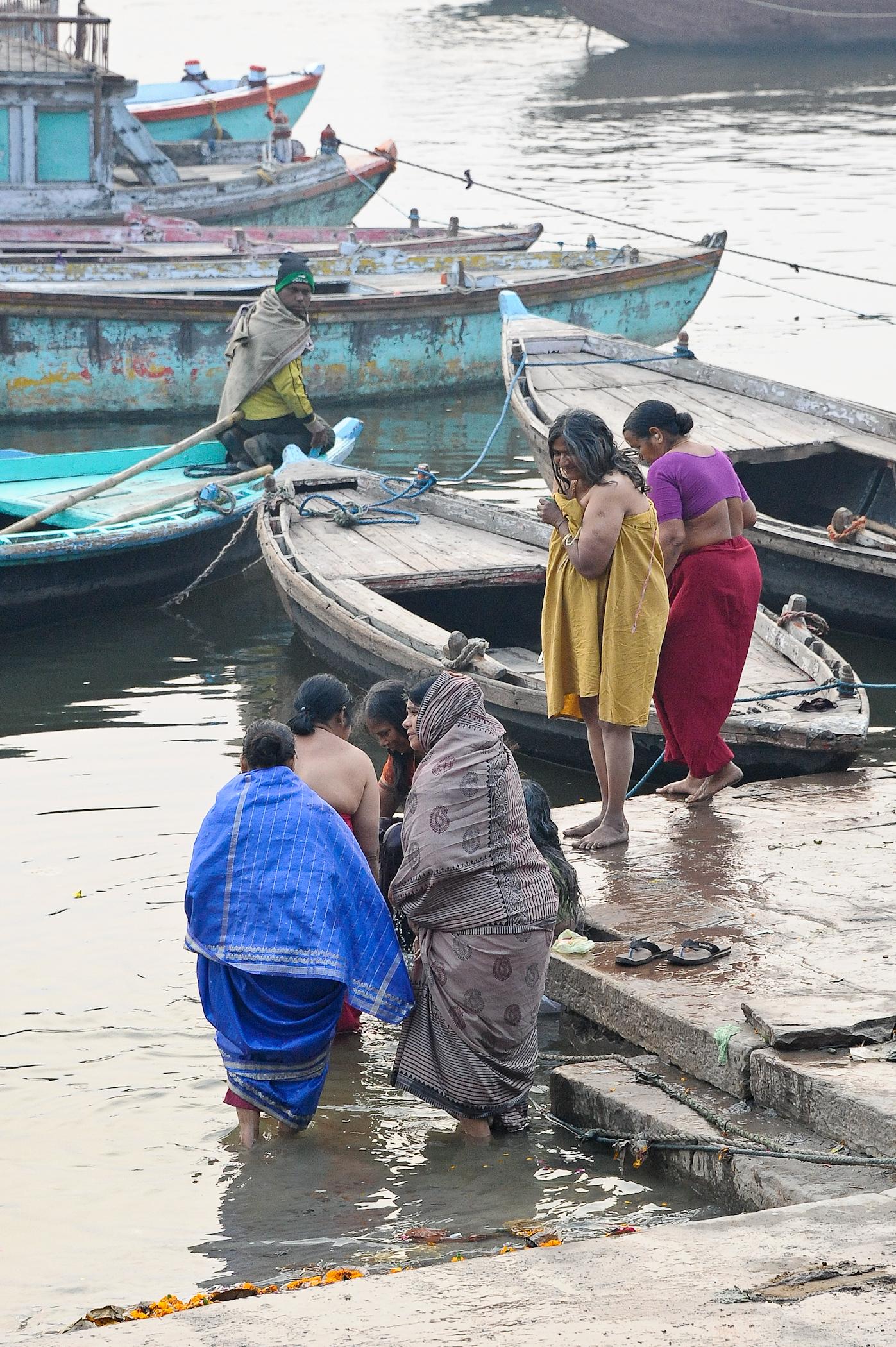 Les fidèles de Benares