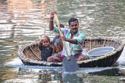 promenades sur les backs waters/Cochin