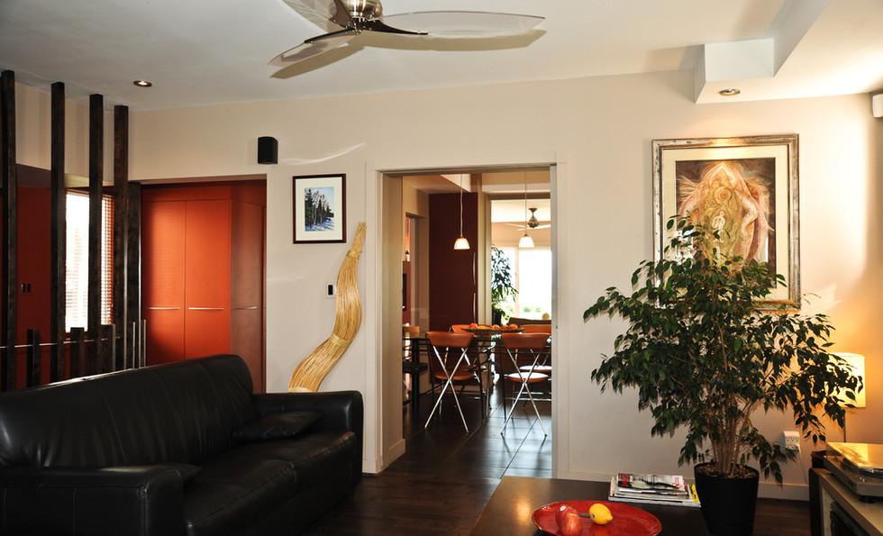 interior home on Hamilton beach
