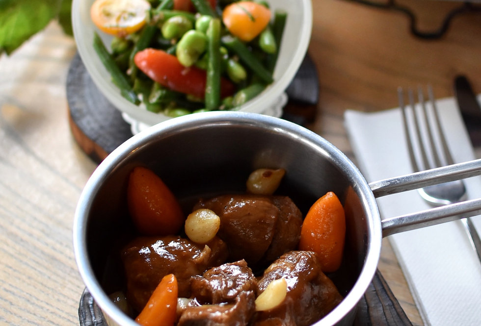 Lamb Casserole, Vegetables