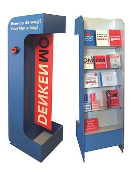 display boeken dibond