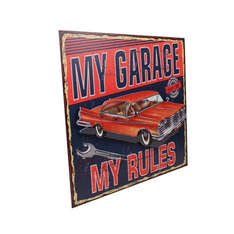 My garege my rules