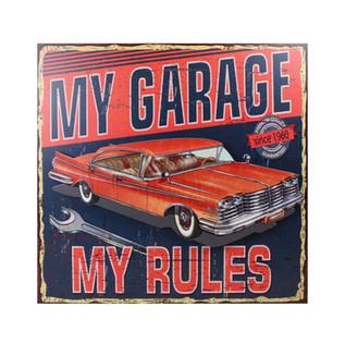 My garage my rules přední strana