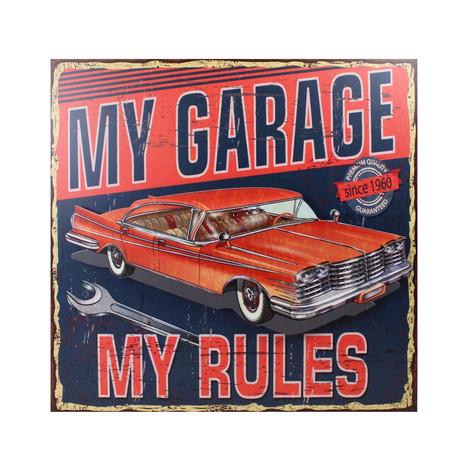 My garege my rules přední strana