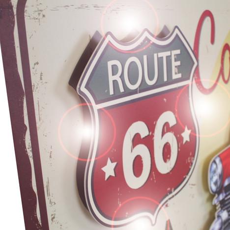 3D obraz route 66