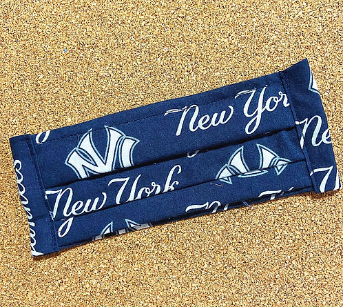 ADULT RTS Yankees Fabric Pocket Mask
