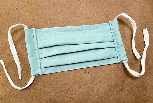 CHILD RTS Aqua Solid Fabric Pocket Mask