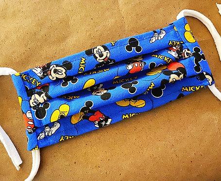 CHILD RTS Blue Mickey Fabric Pocket Mask