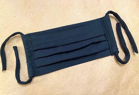 CHILD RTS SOLID Black Fabric Pocket Mask