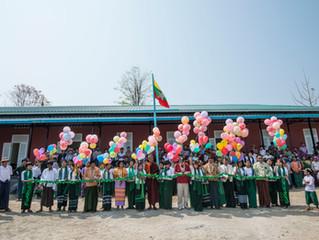 School openings in Myanmar