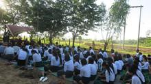 Kyaung Ywa School                          Ground Breaking Ceremony