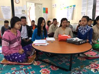 Mindfulness Training at Teacher Training Center