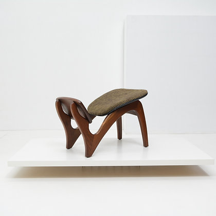 """Research Series"" Foot Stool - Boiling Chair Company, USA c. 1950s"