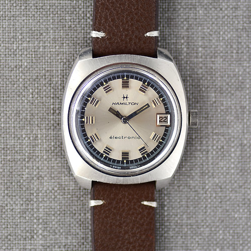 Hamilton Stainless Steel Electronic ref: 5004 c. 1971