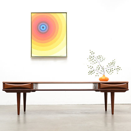 Danish Modern Teak Coffee Table - Arne Vodder