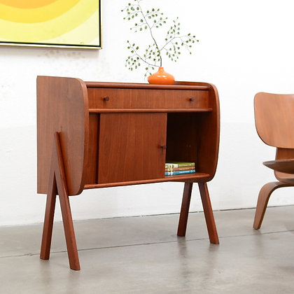 Danish Modern Teak Entry Chest Cabinet - Poul Volther, c. 1950s