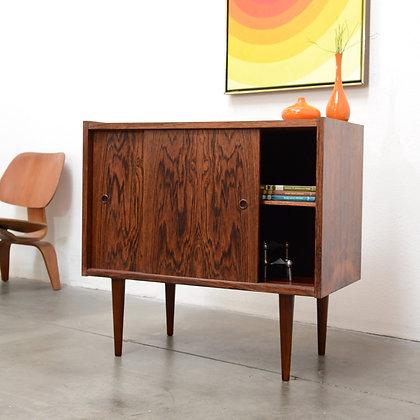 Danish Modern Rosewood Compact Credenza - Preben Sørensen