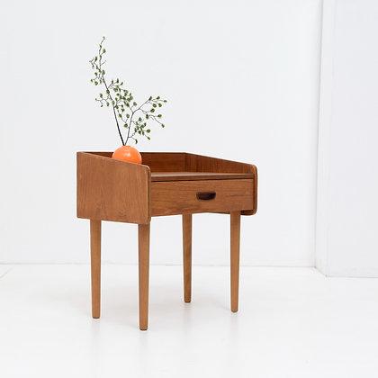 Petite Nightstand / Side Table - Denmark,  c. 1960s