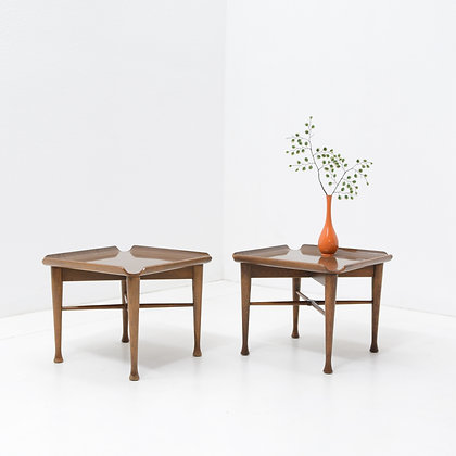 Pair Low Occasional Tables - Lawrence Peabody, Richardson Nemschoff c. 1950s