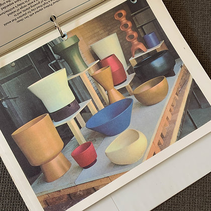 1964 Architectural Pottery Catalog (3 ring bound, facsimile copy)