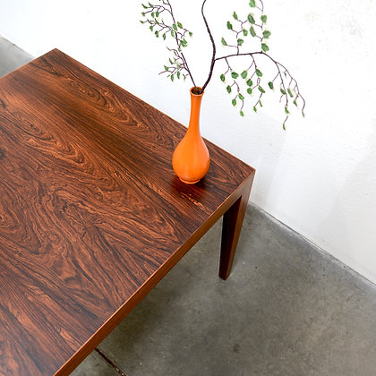 Rosewood Occasional Table Model 110 - Severin Hansen Jr for Haslev, c. 1960s