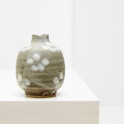 Stoneware Bud Vase, c. 1970s