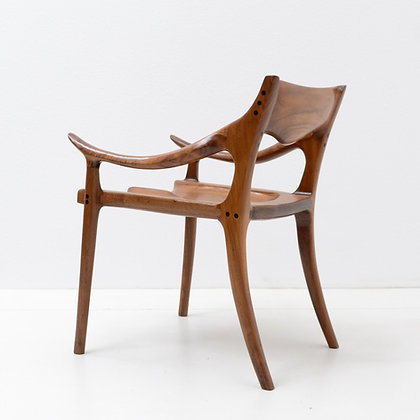"The ""Evans"" Chair (Sam Maloof Design), Mike Raub, c. 2012"