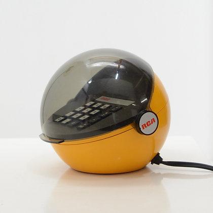 "Pair ""Space Helmet"" Tabletop Calculators - RCA, USA, c. 1970s"