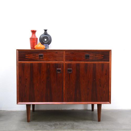 Brazilian Rosewood Credenza Cabinet E Brouer C 1960s